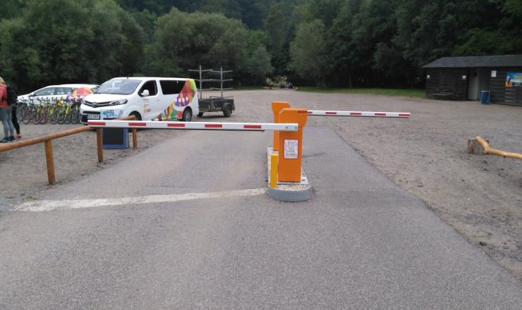 The completion of a car park - Dolánky u Turnova