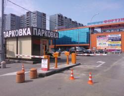 Realizace P+R parkoviště - Medvedkovo, Rusko