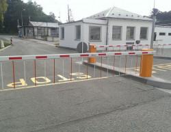 Realizace vjezdu do areálu firmy - PREFA Grygov a.s.