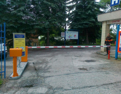 The completion of the entry - Vrchlabí Hospital