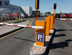 The completion of the company car park - Continental Brandýs