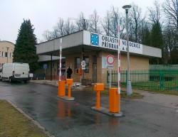 Realizace vjezdu - Oblastní nemocnice Příbram a.s.