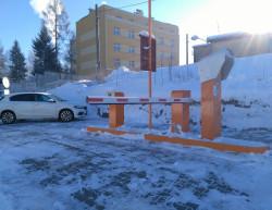 The completion of the car park - Centrum Babylon a.s. - Liberec