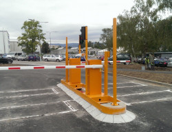 The completion of the employee car park - Liberec, Magna Exteriors