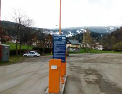 Realizace vjezdu na parkoviště - Skiareál Rokytnice nad Jizerou