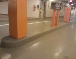 Realizace vjezdu do podzemních garáží - Praha, Ul. Siemensova