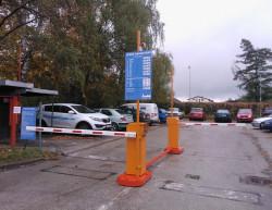 The completion of the car park - Lázně Darkov