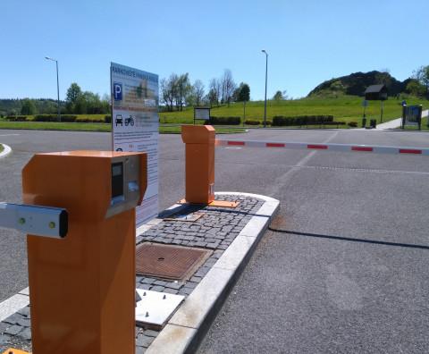 The completion of a parking system - the Town of Kamenický Šenov