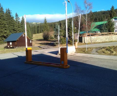 The completion of the car park - the Horní Mísečky Ski Resort