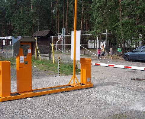 The completion of the Myslivna car park - Doksy, Máchovo jezero