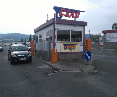 The completion of an automatic car park - Liberec